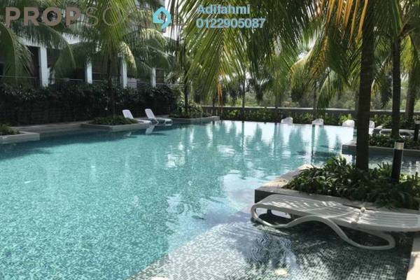 For Rent Condominium at Sri Acappella, Shah Alam Freehold Fully Furnished 2R/2B 2.2k