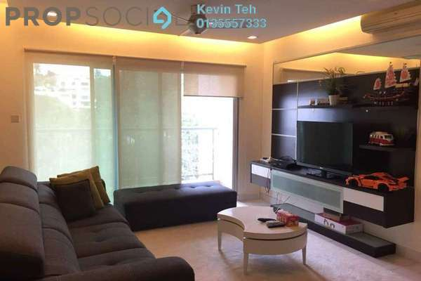 For Rent Condominium at Kiara Designer Suites, Mont Kiara Freehold Semi Furnished 3R/2B 2.9k
