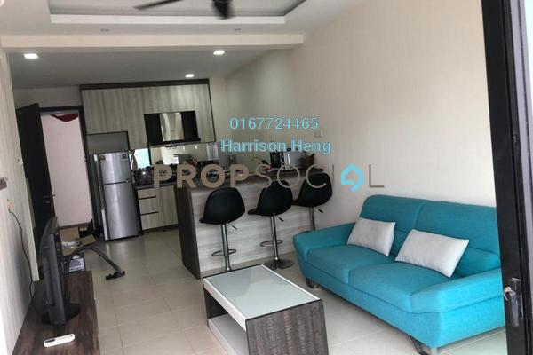 For Rent Apartment at The Garden Residences, Skudai Freehold Fully Furnished 1R/1B 1.3k