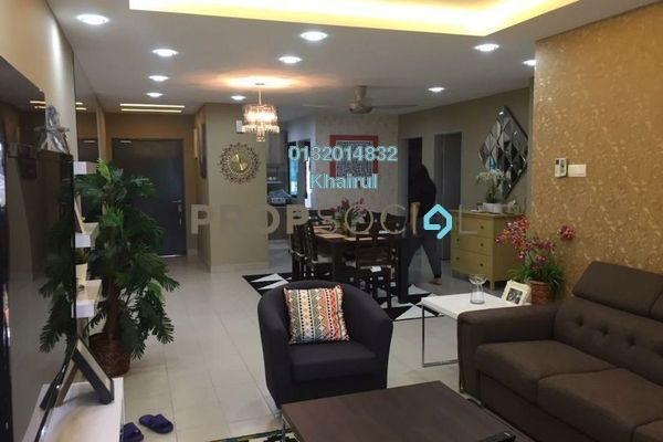For Sale Serviced Residence at Residensi Alami, Shah Alam Freehold Fully Furnished 3R/2B 570k