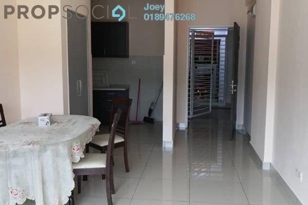 For Rent Condominium at Hijauan Puteri, Bandar Puteri Puchong Freehold Fully Furnished 3R/2B 1.4k