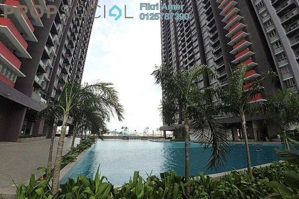 For Sale Serviced Residence at PV18 Residence, Setapak Leasehold Semi Furnished 3R/2B 430k