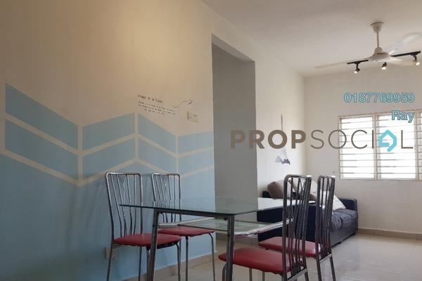 For Rent Apartment at Putra Suria Residence, Bandar Sri Permaisuri Freehold Semi Furnished 3R/2B 1.5k