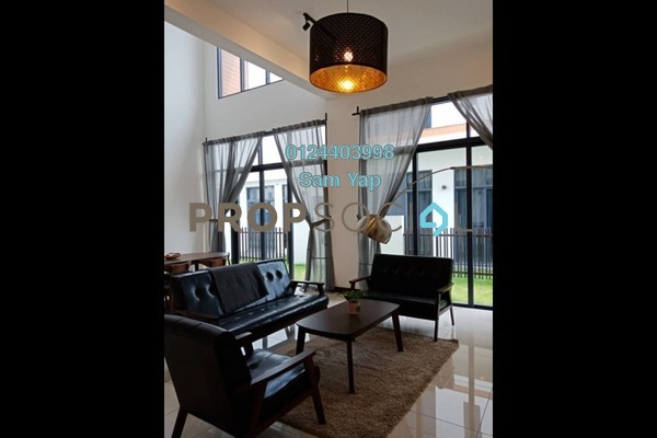 For Rent Semi-Detached at The Parque Residences @ Eco Sanctuary, Telok Panglima Garang Freehold Fully Furnished 5R/6B 3.8k