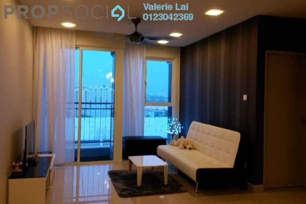 For Sale Serviced Residence at Pacific Place, Ara Damansara Freehold Fully Furnished 4R/2B 600k