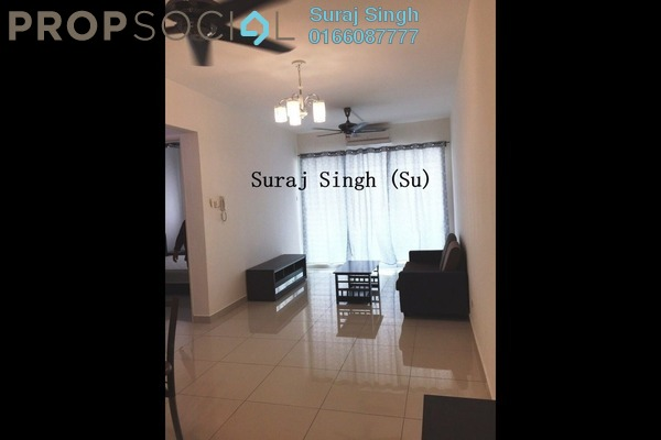 For Rent Condominium at The Regina, UEP Subang Jaya Freehold Fully Furnished 3R/2B 2k