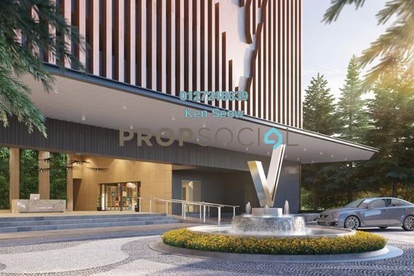 For Sale Condominium at Verando Residence, Petaling Jaya Leasehold Unfurnished 3R/2B 445k