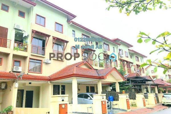 For Rent Townhouse at Villa Laman Tasik, Bandar Sri Permaisuri Freehold Fully Furnished 4R/3B 2.5k