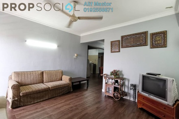 For Rent Condominium at Sri Mahligai, Shah Alam Freehold Fully Furnished 3R/2B 1.7k