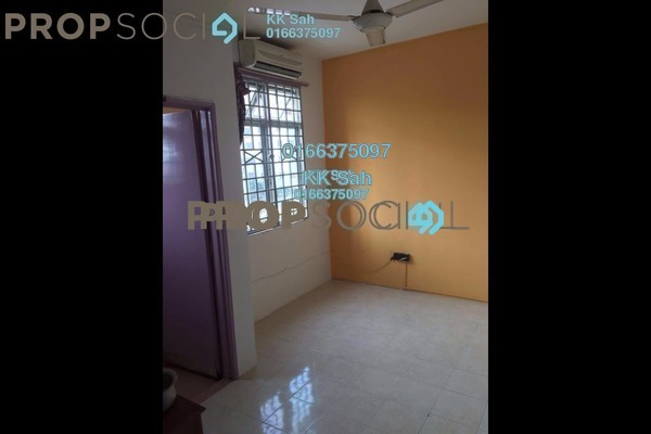 For Sale Apartment at Bayu Villa, Klang Freehold Semi Furnished 3R/2B 268k