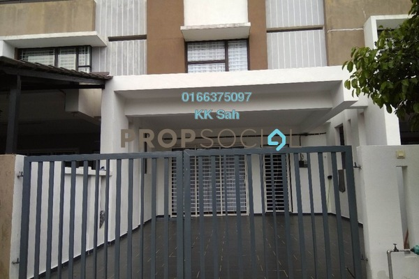For Sale Link at Bandar Teknologi Kajang, Semenyih Freehold Semi Furnished 4R/3B 480k