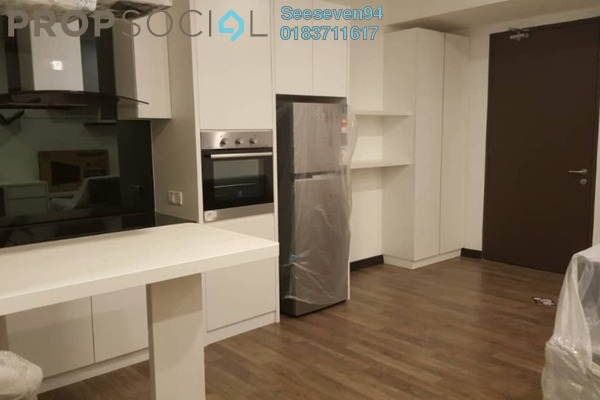 For Rent Condominium at Landmark II, Bandar Sungai Long Freehold Fully Furnished 0R/1B 1.05k