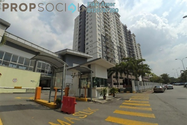 For Sale Condominium at Casa Idaman, Jalan Ipoh Leasehold Fully Furnished 3R/2B 400k