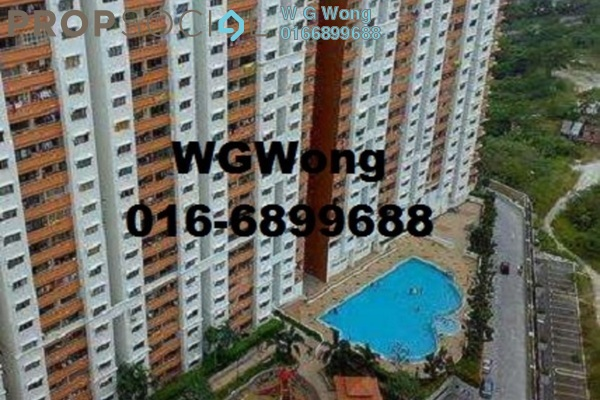 For Sale Apartment at Flora Damansara, Damansara Perdana Freehold Fully Furnished 3R/2B 219k