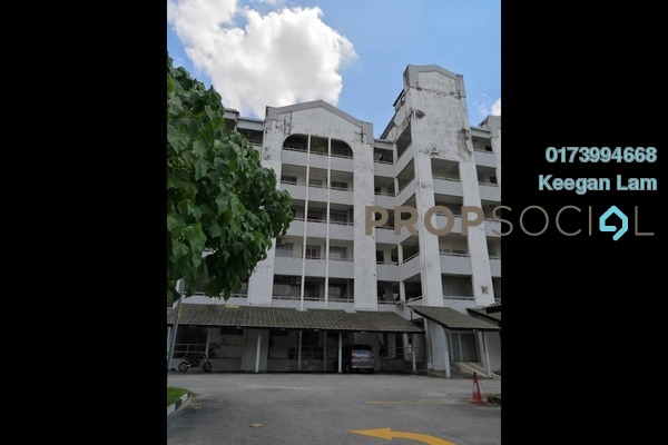 For Rent Apartment at Fawina Court, Ampang Freehold Fully Furnished 2R/2B 1.4k
