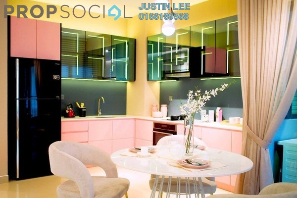 For Sale Condominium at Jalan Kapar, Klang Freehold Semi Furnished 3R/2B 475k