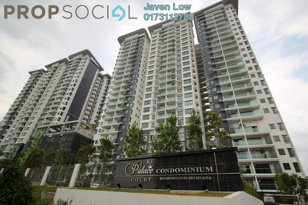 For Rent Condominium at KL Palace Court, Kuchai Lama Freehold Semi Furnished 3R/2B 1.65k