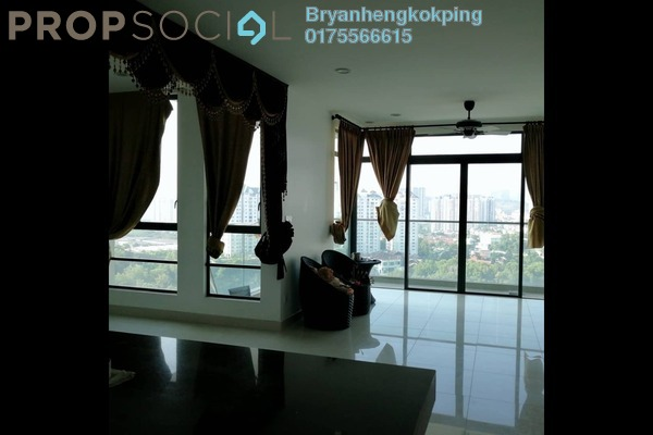 For Sale Condominium at The Z Residence, Bukit Jalil Freehold Semi Furnished 3R/2B 799k