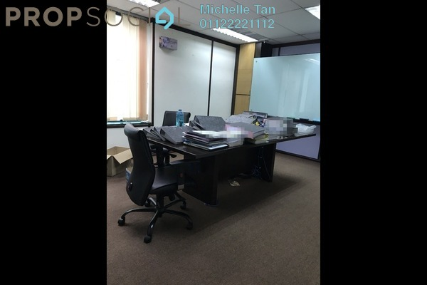 For Rent Office at Megan Avenue 1, KLCC Freehold Semi Furnished 0R/0B 5.8k