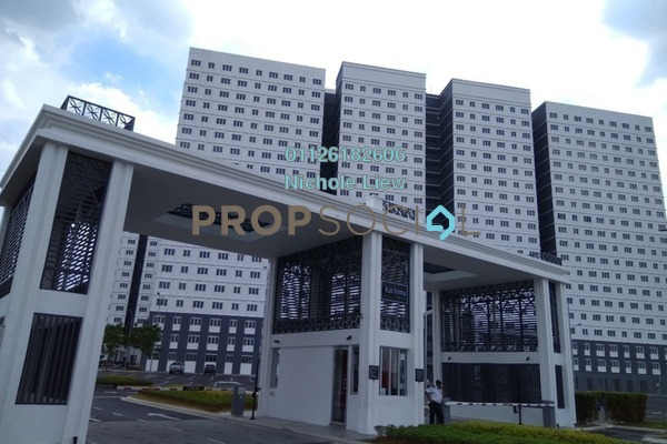 For Rent Condominium at Eco Majestic, Semenyih Freehold Semi Furnished 3R/2B 800translationmissing:en.pricing.unit