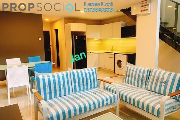 For Rent Duplex at D'Latour, Bandar Sunway Freehold Fully Furnished 3R/2B 2.7k
