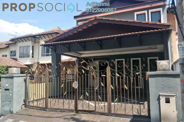 For Sale Terrace at Damai Bestari, Alam Damai Freehold Semi Furnished 5R/3B 720k