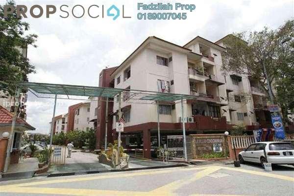 For Sale Condominium at La Villas Condominium, Setapak Freehold Semi Furnished 3R/2B 400k