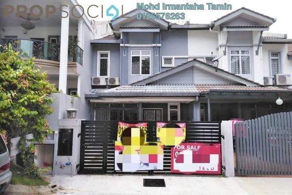 For Sale Terrace at Taman Sierra Ukay, Ampang Jaya Leasehold Semi Furnished 4R/3B 800k