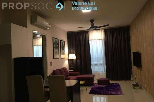 For Rent Serviced Residence at Paloma Serviced Residences, Subang Jaya Freehold Fully Furnished 2R/2B 2.2k