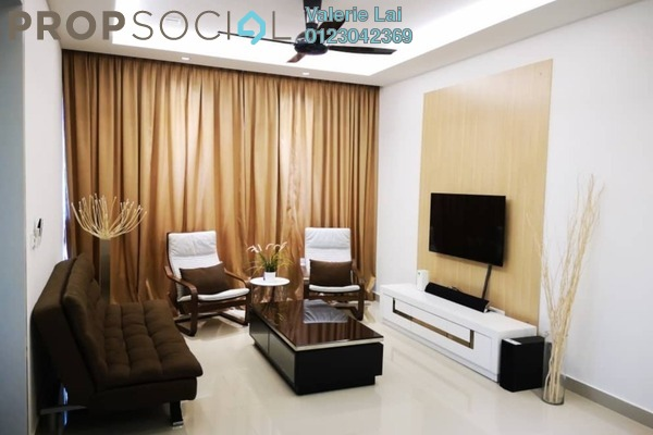 For Rent Serviced Residence at Paloma Serviced Residences, Subang Jaya Freehold Fully Furnished 2R/2B 2.5k