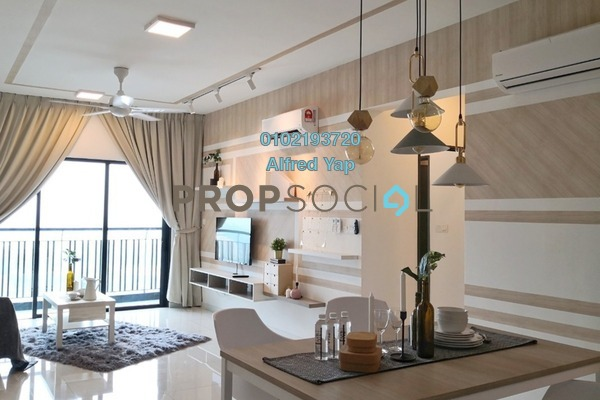 For Rent Serviced Residence at Emira, Shah Alam Freehold Fully Furnished 2R/2B 2.5k