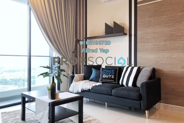For Rent Condominium at LakePark Residence @ KL North, Selayang Freehold Fully Furnished 3R/2B 2.2k