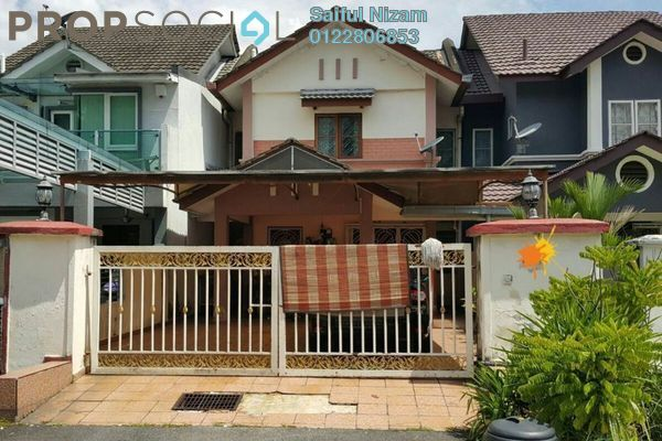 For Sale Terrace at Section 26, Shah Alam  Semi Furnished 4R/3B 525k