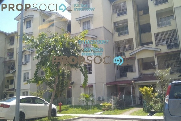 For Rent Apartment at Kasuarina Apartment, Klang Freehold Unfurnished 3R/2B 1.2k