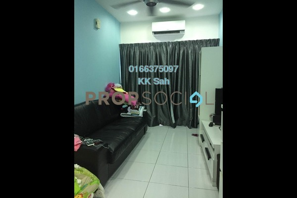 For Sale Townhouse at D'Eleganza, Bandar Damai Perdana Freehold Semi Furnished 3R/2B 428k