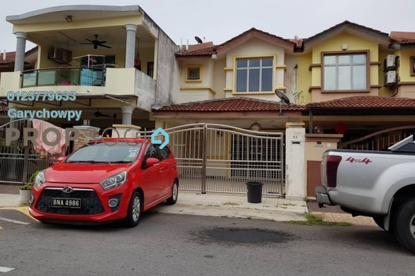 For Sale Terrace at PP 5, Taman Putra Prima Freehold Semi Furnished 4R/3B 365k