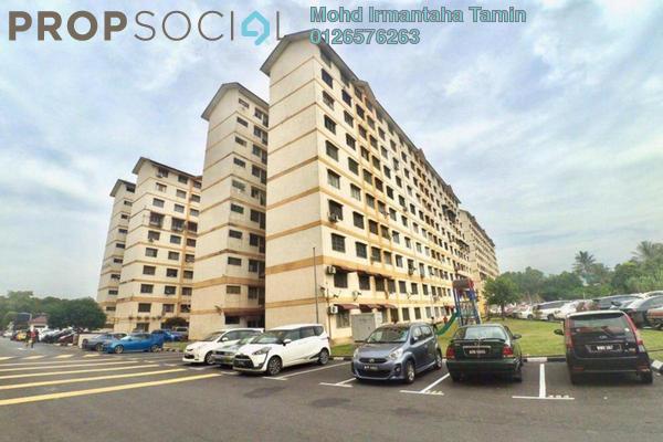 For Sale Apartment at Sri Tanjung Apartment, UEP Subang Jaya Freehold Semi Furnished 3R/2B 190k
