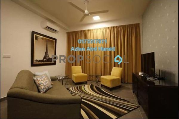 For Sale Condominium at Sentrio Suites, Desa Pandan Freehold Semi Furnished 2R/2B 600k