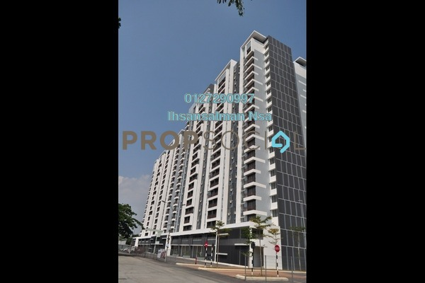 For Sale Serviced Residence at Sentrovue, Kuala Selangor Freehold Semi Furnished 3R/2B 320k