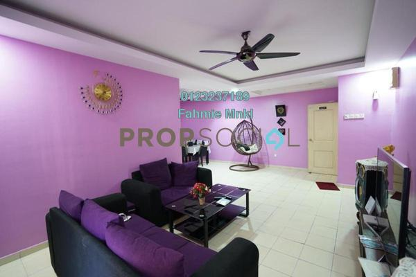 For Sale Apartment at Gardenville Townvilla, Selayang Heights Freehold Semi Furnished 3R/2B 335k