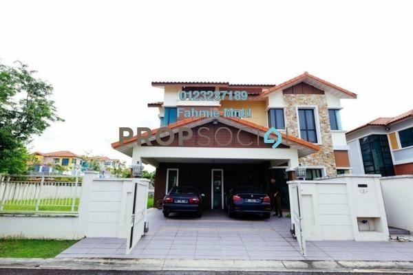For Sale Bungalow at Bukit Sungai Long 1, Bandar Sungai Long Freehold Semi Furnished 6R/6B 2.5m