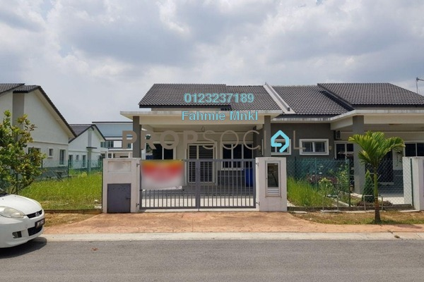 For Sale Semi-Detached at Kampung Lombong, Shah Alam Leasehold Unfurnished 4R/2B 480k