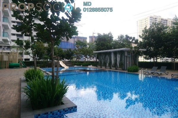 For Rent Serviced Residence at The Nest, Setapak Freehold Fully Furnished 2R/2B 1.5k