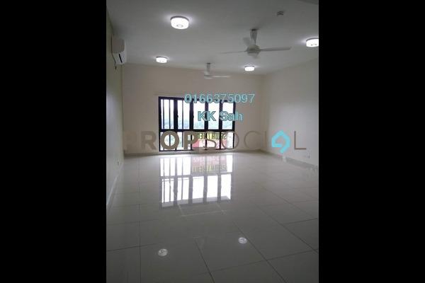 For Rent Serviced Residence at Lake Vista Residence, Bandar Tun Hussein Onn Freehold Semi Furnished 3R/2B 1.7k