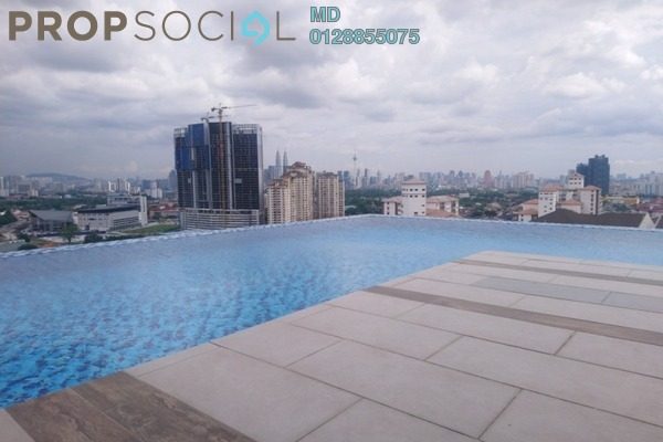 For Rent Serviced Residence at The Nest, Setapak Freehold Fully Furnished 2R/1B 1.6k