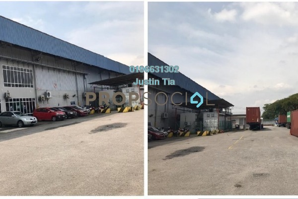 For Rent Factory at Section 16, Shah Alam Freehold Semi Furnished 0R/0B 160k