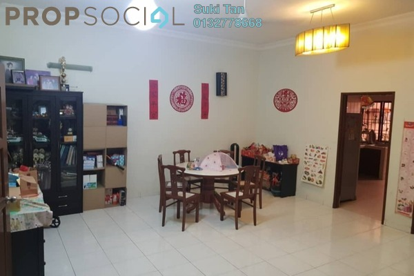 For Sale Townhouse at Taman Skyline, Old Klang Road Freehold Semi Furnished 3R/2B 590Ribu