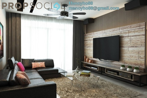 For Sale Condominium at The Z Residence, Bukit Jalil Freehold Semi Furnished 3R/2B 670k