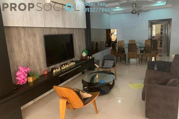 For Sale Terrace at Damai Puri, Kepong Freehold Semi Furnished 5R/5B 1.22m