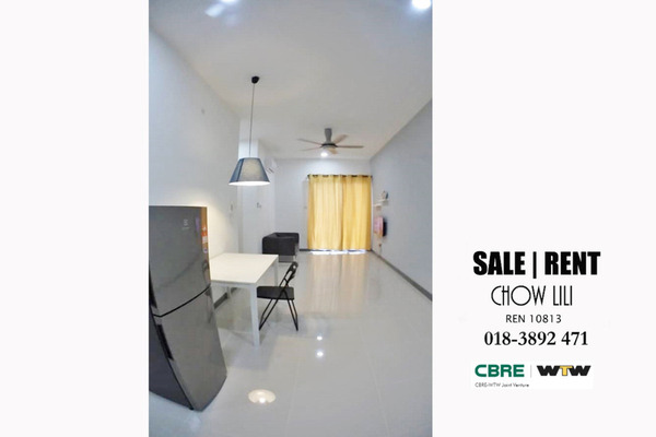 For Rent Serviced Residence at South View, Bangsar South Freehold Fully Furnished 2R/2B 2.6k